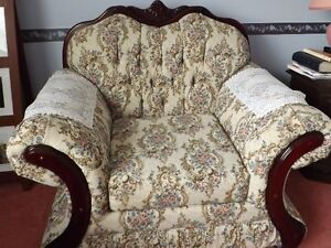 Chesterfield and Chair set