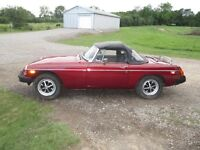 1979 MGB great condition