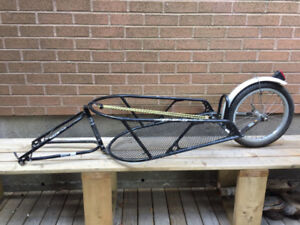 BOB Yak Bicycle Trailer Used and serviceable, w/ skewer, bungee