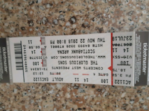 glorious sons tickets