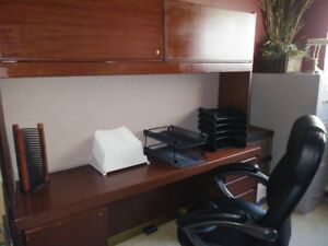 Office Furniture with chair and filing cabinet