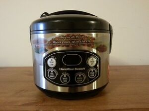 how to cook food in your hamilton rice cooker
