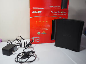 1TB Buffalo DriveStation External USB 2.0 HD