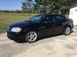 2012 Dodge Avenger SXT Sedan LOW Ks SAFTIED black car