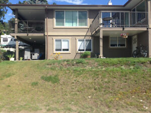 Large 2 brm bsmt suite with Skaha Lake views utilities included