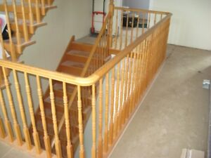 Staircase/Railing/Spindles/Treads