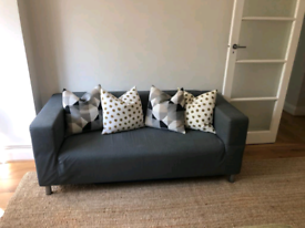 Ikea KLIPPAN 2seater sofa grey