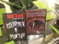 The Sopranos first and second season boxed DVD sets