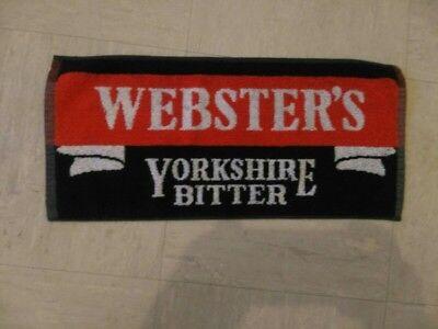 Yorkshire Bitter - websters yorkshire bitter bar towel