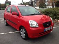 Kia Picanto 57 plate 1.1 petrol manual 1 owner MOTD excellent runner £745