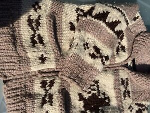Authentic Cowichan Sweater (L) London Ontario image 3