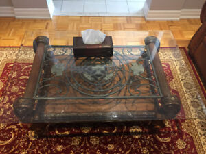 Very nice GLASS TABLE for only $200 TOP QUALITY