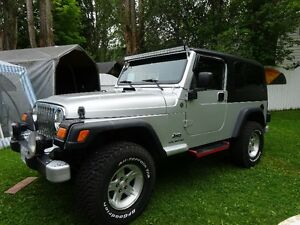 2004 Jeep TJ unlimited Coupe (2 door)