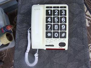 Serene Innovations HD-60J Amplified Jumbo Key Telephone - $38.00