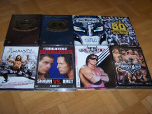 16 WWE WRESTLING DVD's - amazing collection