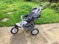 Mothercare Xtreme Buggy / Pushchair 3 wheeler