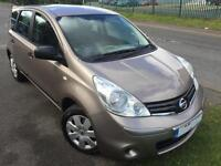 NISSAN NOTE 1.4 VISIA £22 WEEK FSH CD 1 YEAR MOT 1 YEAR AA COVER 5 DR HATCH 2009