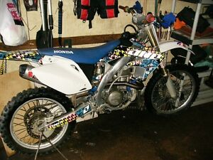 06 crf450r crf 450 nice fast bike lots of upgrades