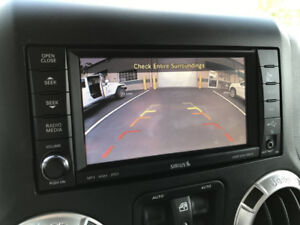 Add Back up Camera to Factory Radio for Jeep Wrangler