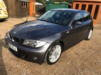 BMW 120d M Sport 2008 81000 miles full leather