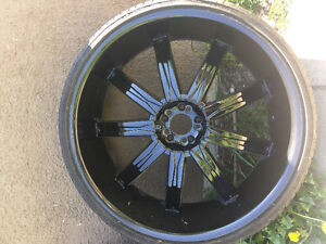 26 inch rims 5x114  fits Infiniti Lexus other imports