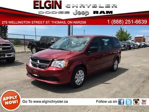 2015 Dodge Grand Caravan SE/SXT***Low Kms,FWD,Mint***