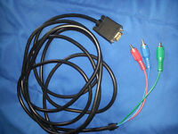 VGA to Component Cable 15ft TV