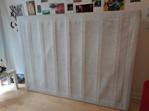 BEAUTIFUL IKEA SOMMIER/BOX SPRING. MAKE ME AN OFFER