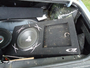 12 inch jl audio subwoofer in box