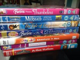 Selection of Disney and Universal dvds