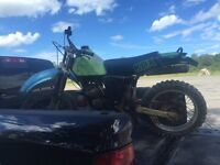 200 KDX dirt bike for sale
