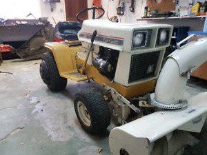 Cub Cadet 129 hydro with attachments for trade