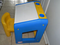 Little Tikes,  A desk with a chair