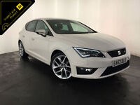 2013 63 SEAT LEON FR TECHNOLOGY TDI DIESEL 1 OWNER FROM NEW FINANCE PX