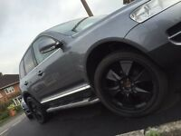 "4 X STAGGERED 22"" Alloy Wheels + Tyres 5x120 Discovery, Range Rover, VW T5,Touareg BMW X5"