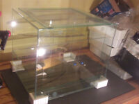 New 54 Gallon Terrarium with Sliding Doors and Extra Levels