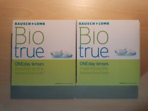 Bausch + Lomb Bio true ONEday lenses