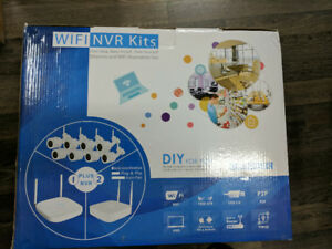 Wifi Security Camera Kit 8 Channel - NVR Kit ( 8 Cameras)