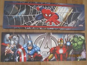 Spiderman & Avengers Canvas Pictures