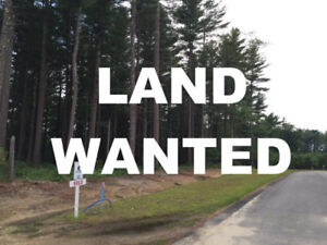 Wanted ONE acre building lot