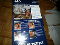 Husqvarna 41CC Gas Chainsaw, 18-in