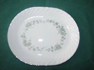 Corelle Corning Ware Green Ivy Platter REDUCED