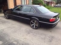 2001 BMW 740IL WIDE SCREEN NAVIGATION 19' M6 WHEELS AND MORE!