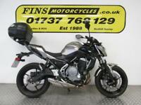 2017 Kawasaki ER650H Z650, Silver, 1 Owner, Low mileage, Excellent, Warranty