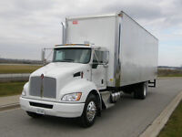 2009 Kenworth Straight Truck with 28 ft box.