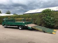 Isuzu Truck NQR 5.2 PLANT LORRY - HYDRAULIC RAMP - 7.5 TON
