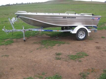 Quintrex 390 Explorer Tinnie Boat (New/Never Used) East Tamworth Tamworth City Preview