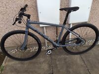 Cost £900 new! Hybrid bicycle, carbon belt drive, very smooth and fast.