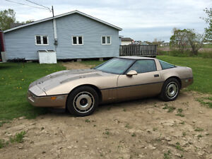 1984 corvette low mileage