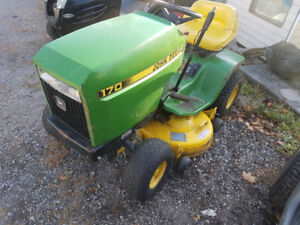 John deere riding lawn mower for parts